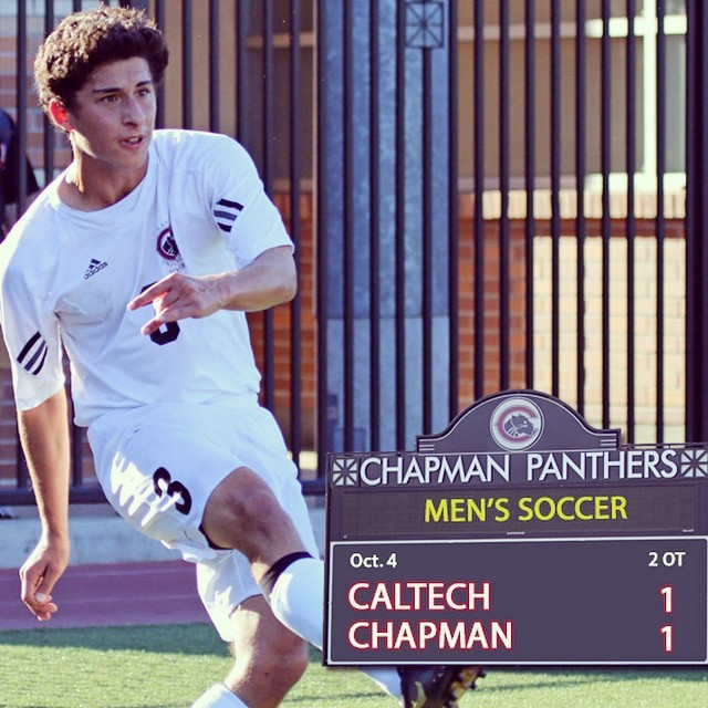 Photo: Men's Soccer ties with Caltech in 2OT! #d3soccer
