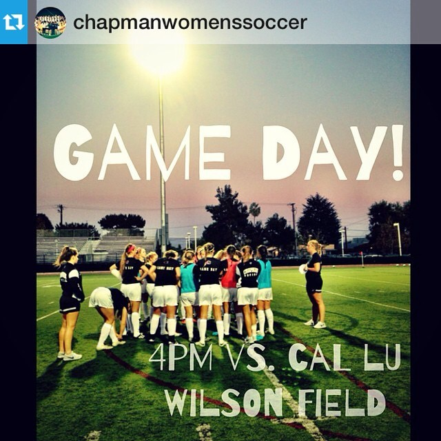 Photo: #Repost from @chapmanwomenssoccer with @repostapp --- | g a m e  d ...