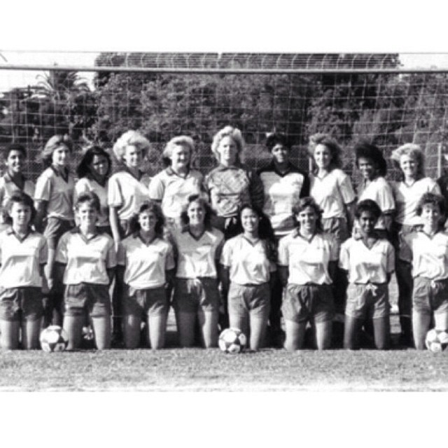 Photo: #TBT: Women's soccer, 1986. Don't miss the Panthers vs. Redlands ga...