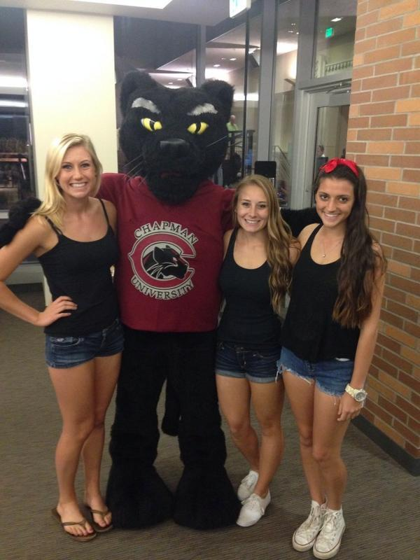 Photo: #PetethePanther #PantherPic #ChapmanU http://t.co/VIPzvQHvXm