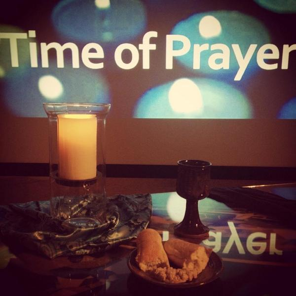 Photo: Restorative prayers are rising. #wednightworship #chapmandoc #disci...