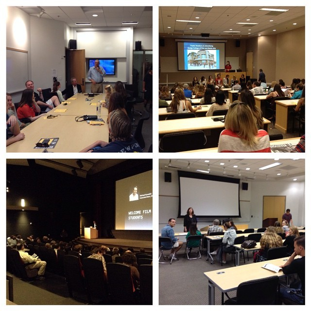 Photo: Breakout sessions for each major are underway for #DiscoverCU at #D...