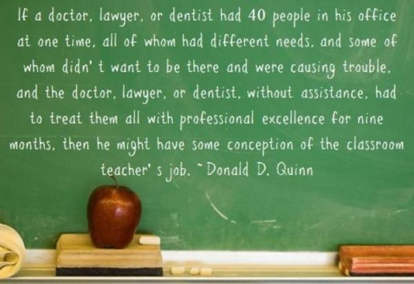 Photo: RT @Primary_Ed: Why teaching is the most demanding job! http://t.co...