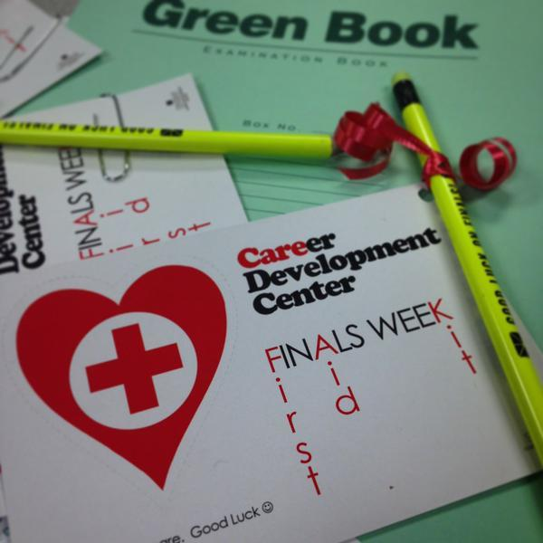 Photo: Stop by AF303 for your FREE #finals week #FIRSTAID kit!! Good luck ...