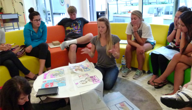 """Photo: Art 393 Sustainable Design Students Are on a """"M..."""