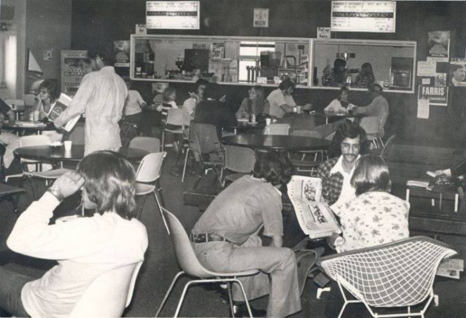 Photo: #ThrowbackThursday to the snack bar inside the old Student Union in...