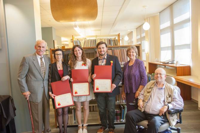 Photo: Announcing the Leatherby Libraries Undergraduat...