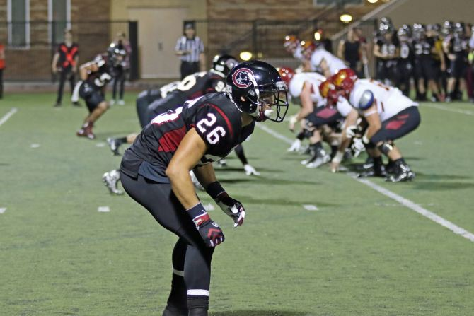 Photo: Defense comes up HUGE in a 27-13 win over Redlands! An INT and thre...