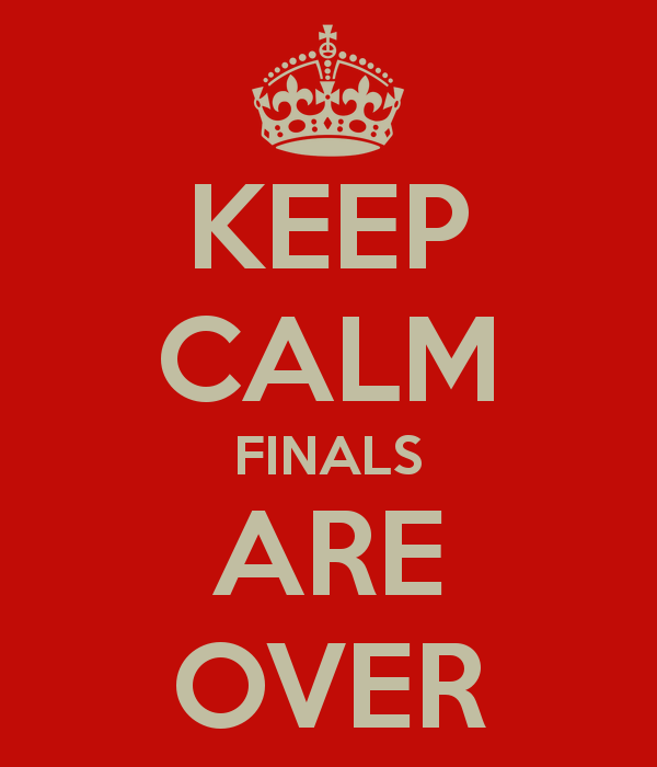 Photo: Congratulations on conquering finals week! We hope that you have a ...