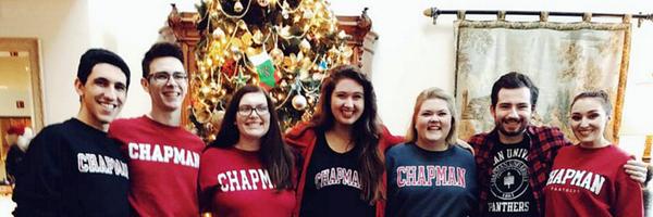 Photo: RT @ChapmanU: Who do you celebrate the holidays with? Show us! Shar...