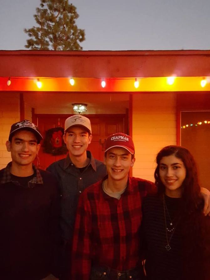 Photo: Whether you're four siblings who currently attend Chapman or alumni...