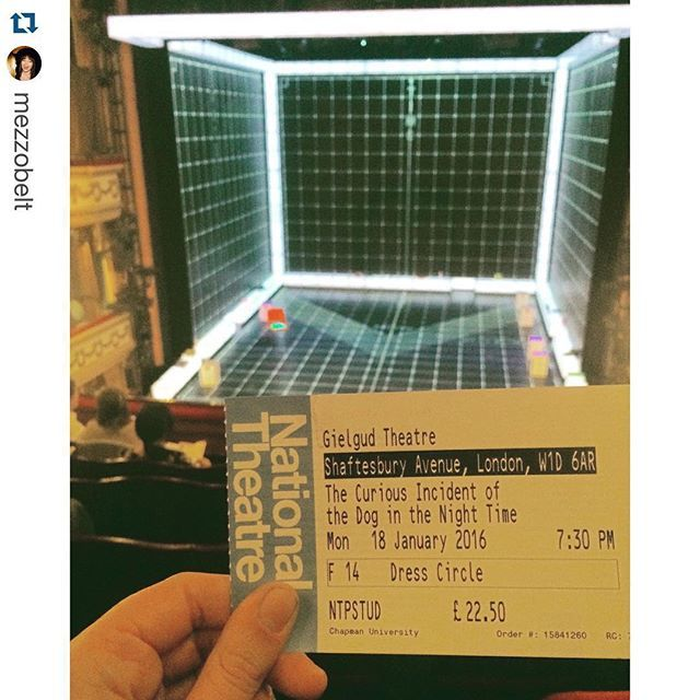 Photo: From our London Theatre Tour's visit to the Gielgud to see Mark Had...