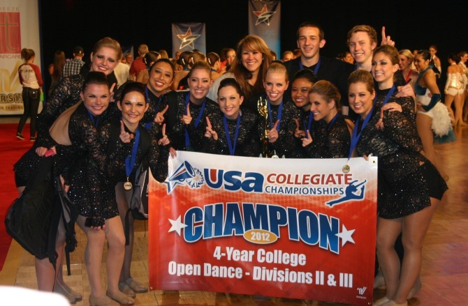 Photo: Dance team wins top honor at national competiti...