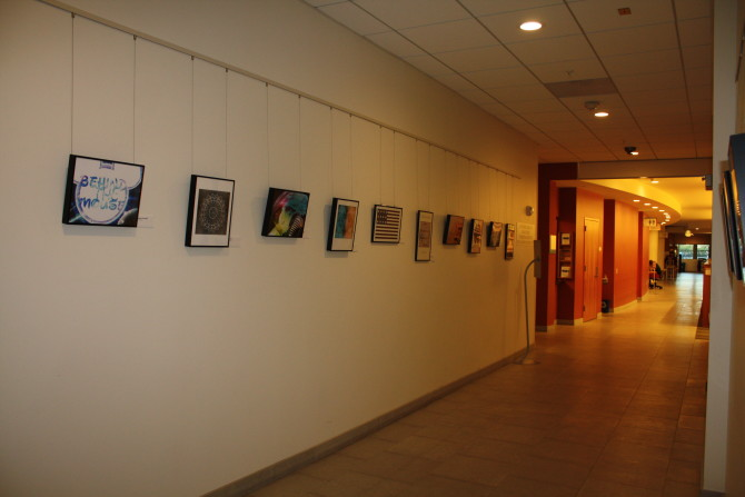 """Photo: """"Behind the Mouse"""" reception honors student art..."""