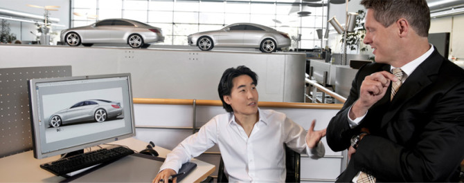 Photo: Creativity and Culture with Mercedes Benz Desig...
