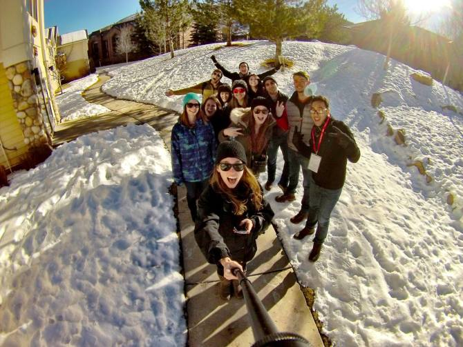 Photo: Students Have Fun & Learn at Sundance