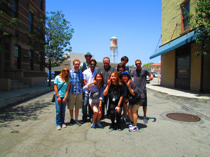 Photo: Warner Bros. Backlot Tour Wows Korean Students