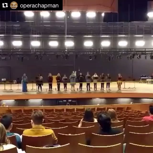 Photo: HEAVENLY VOICES! Repost @operachapman ・・・ As we get ready to sing a...