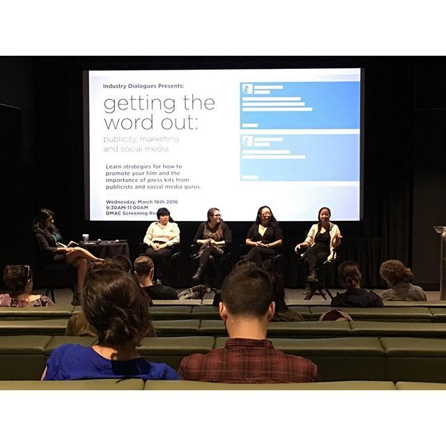 Photo: The second of our Industry Dialogues panel series, Getting the Word...