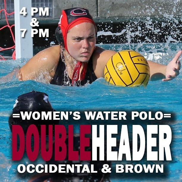 Photo: Watch the Panthers in action at 4 against Oxy and 7 against Brown i...