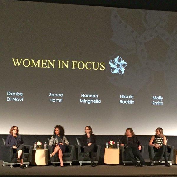 Photo: RT @Jessica_stw: Inspiring group!  #womeninfocus2016 #chapmanu #dod...