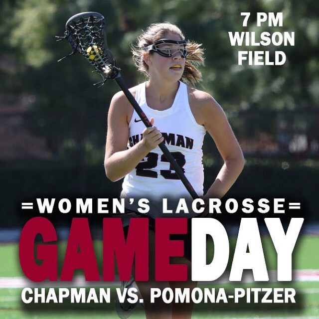 Photo: Final home match and a HUGE one for women's lacrosse tonight at 7 a...