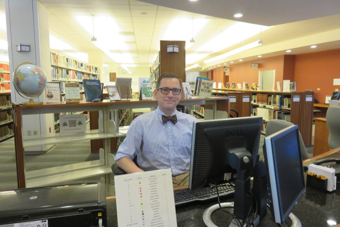Photo: Librarian Interviews: Cotton Coslett