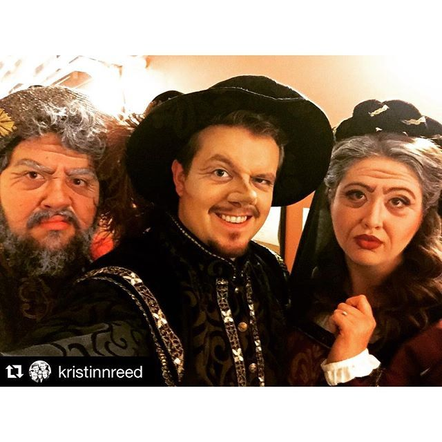 Photo: Repost @kristinnreed ・・・ Opening night of Suor Angelica and Gianni ...