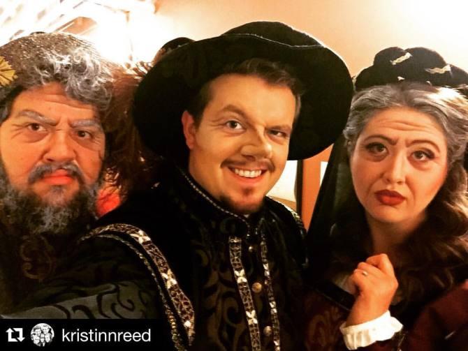 Photo: Repost @kristinnreed   ・・・ Opening night of Suor Angelica and Giann...