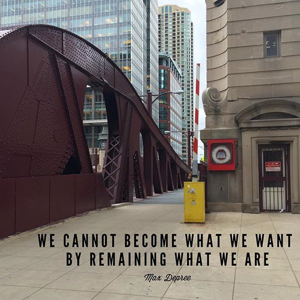 "Photo: RT @CareerBuilder: ""We cannot become what we need to be by remainin..."