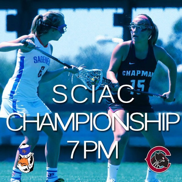 Photo: #Gameday #theSCIAC #Championship #Chaptown #CUthere 👀