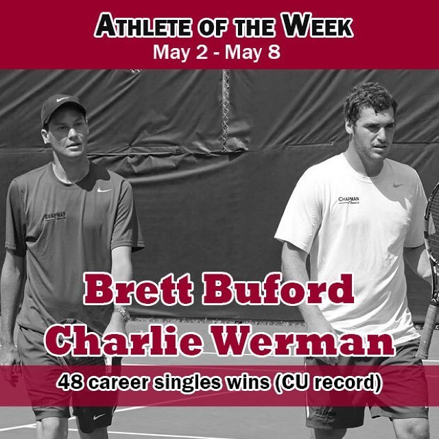 Photo: We've got new record holders! Both Buford and Werman end the season...