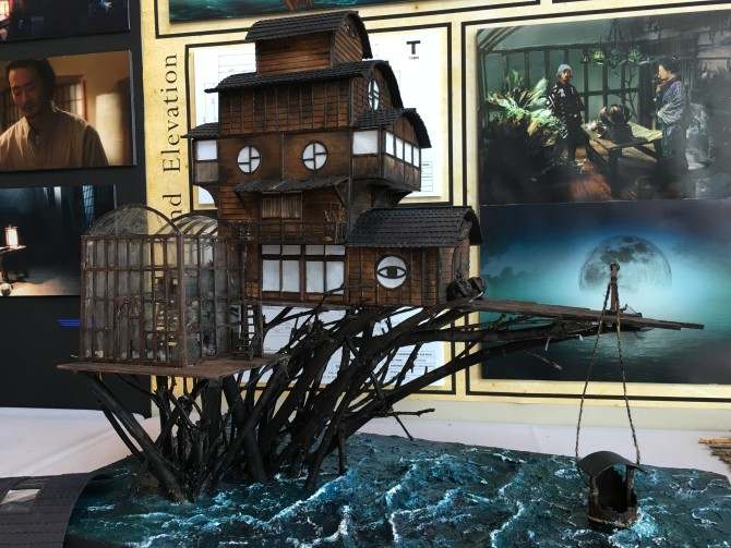Photo: Production Design Showcase Has Small Models For...