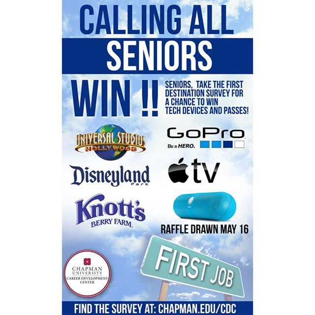 Photo: SENIORS!! Don't forget to fill out the First Destination Survey and...