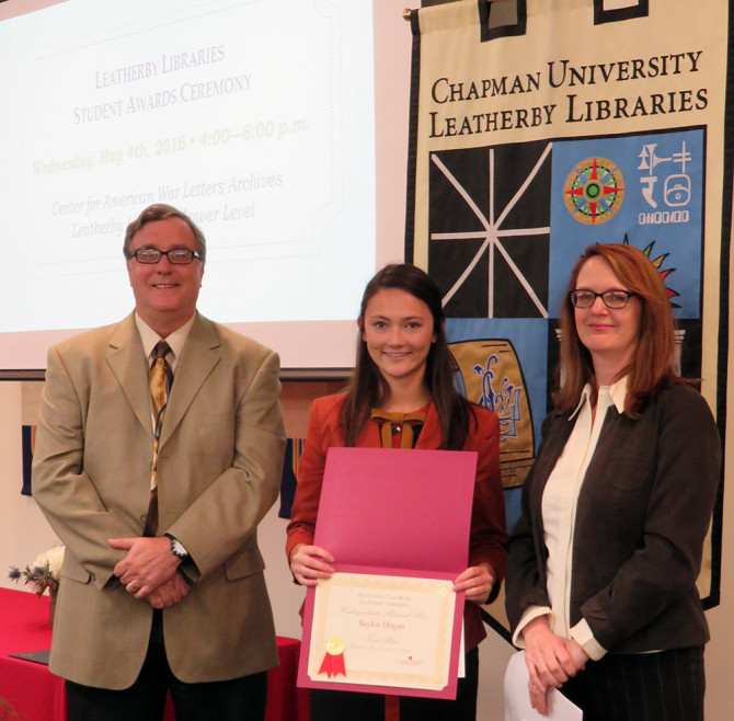 Photo: Seniors Receive Distinguished Awards In Research