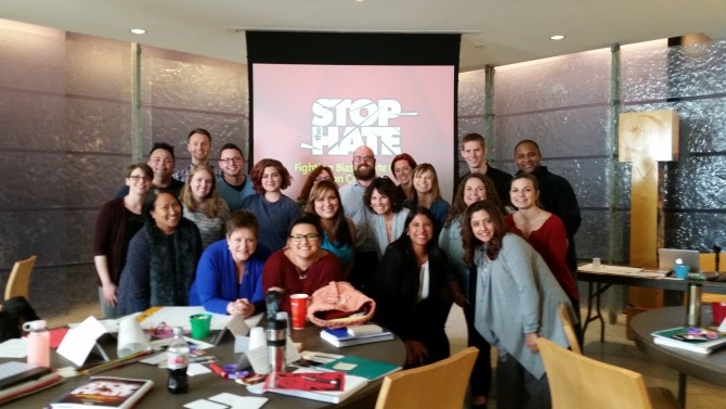 Photo: Team of Chapman staff ready to offer Stop the H...
