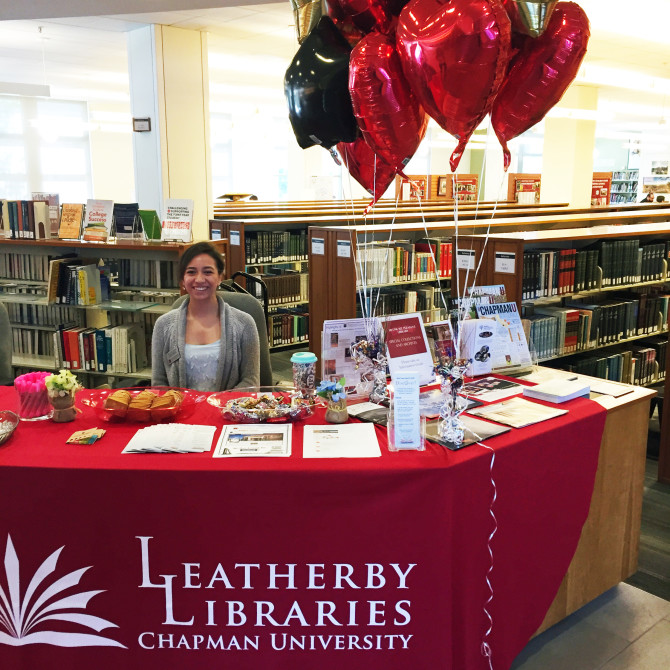 Photo: Leatherby Libraries Welcomes Students with Full...