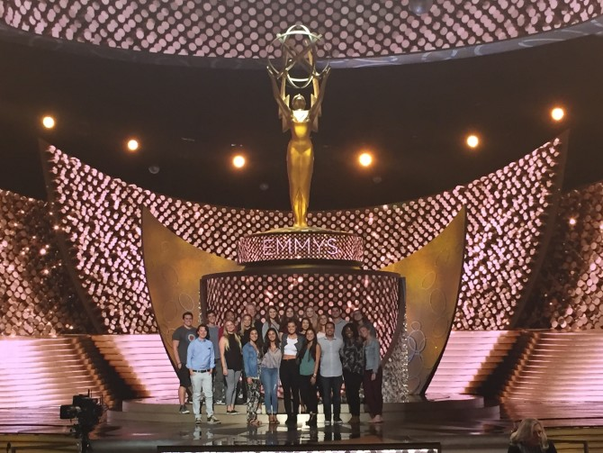 Photo: Students Visit Emmy Rehearsals to See How It's ...