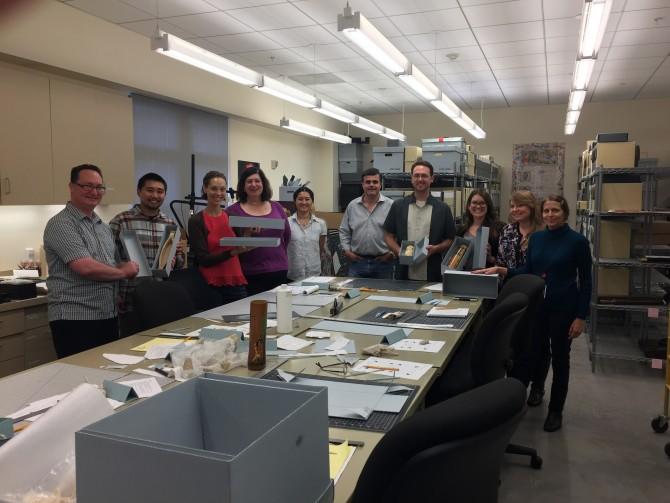 Photo: Librarians Fold and Cut Their Way Through Box M...