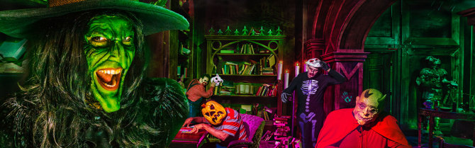 Photo: Brooke Adair Walters: Queen of the Halloween Haunt