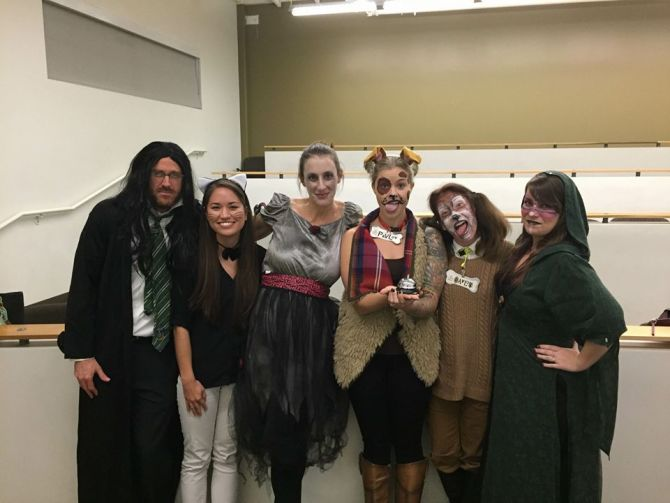 Photo: More Halloween pictures of our MFT Students and Faculty. The first ...