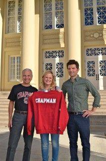 """Photo: #TBT: To when #NBC's """"Parks and Recreation"""" filmed at Chapman! Old ..."""
