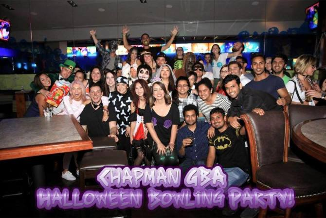 Photo: #TBT to the Chapman GBA Halloween Bowling Night! Thank you to every...