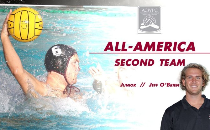 Photo: Jeff O'Brien scores his second career All-America recognition from ...