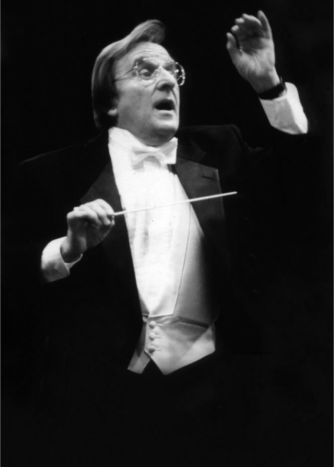 Photo: Throwback Thursday: John Koshak, conductor and professor emeritus, ...