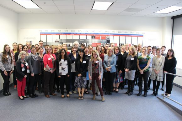 Photo: For the first time at a conference dedicated to the field, members ...