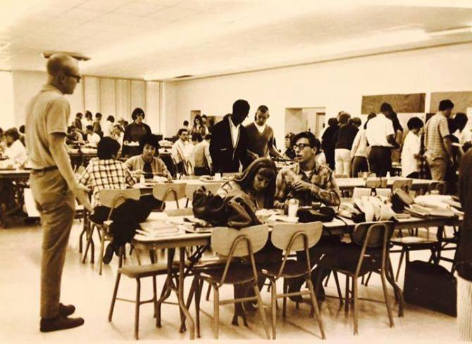 Photo: #TBT to lunchtime in 1987. My, how things have changed! If you're  ...