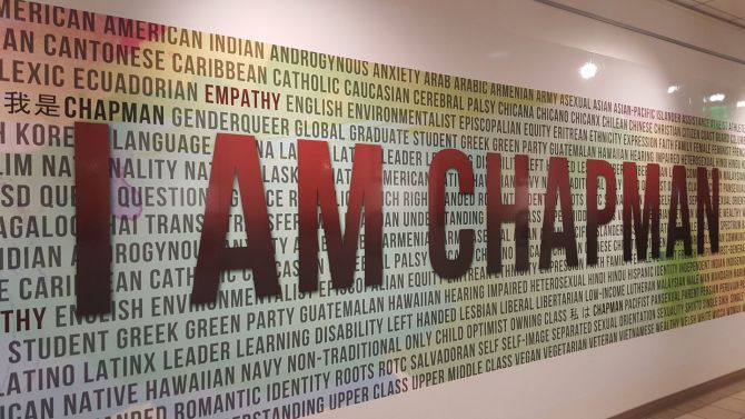 Photo: The MFT Program at Chapman University values diversity, equity and ...