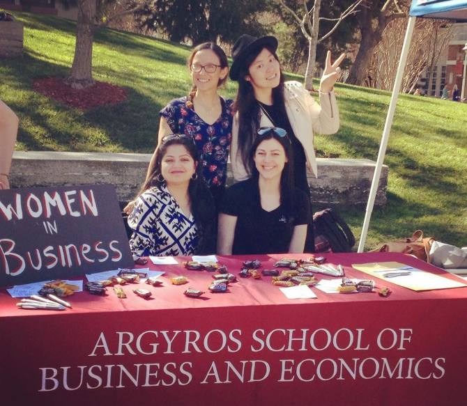Photo: Interested in joining the Women in Business club? Email Ana Rahlves...
