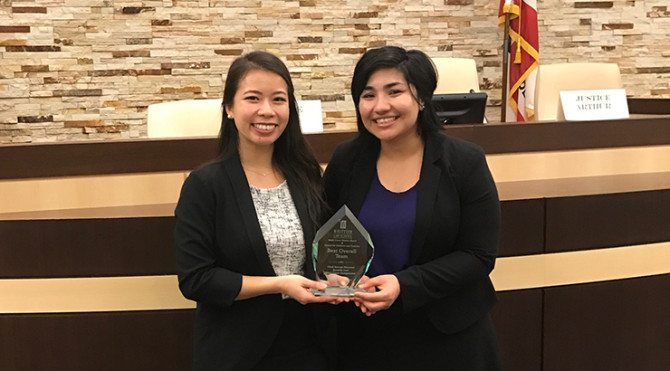 Photo: Chapman Finishes Strong at Juvenile Moot Court ...